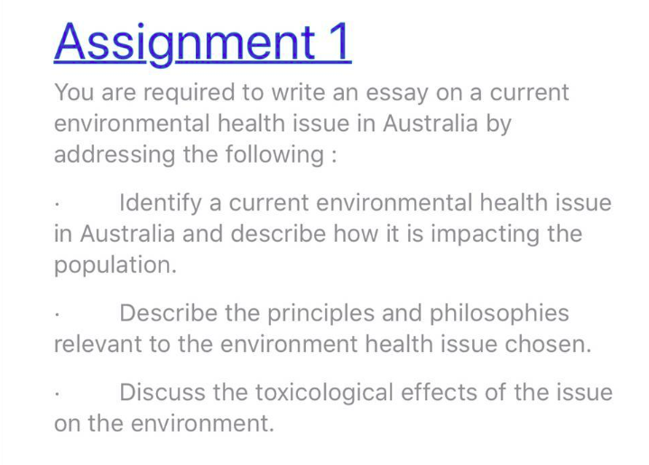 Essay With Thesis  Business Essay Writing Service also Autobiography Essay Sample Health  Environmental Health Issue Impacting The Population  Sample Narrative Essay High School