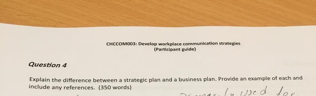 Development of Workplace Communication Strategies